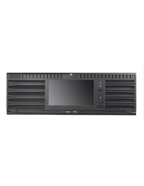 • Hikvision 128ch NVR, 576Mbps