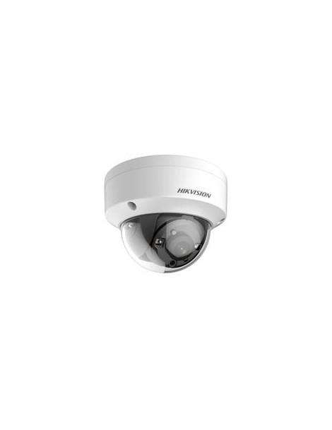 Hikvision 3MP TVI-Mini Vandal Dome, 2.8mm, True WDR, IP66, EXIR, 12VDC