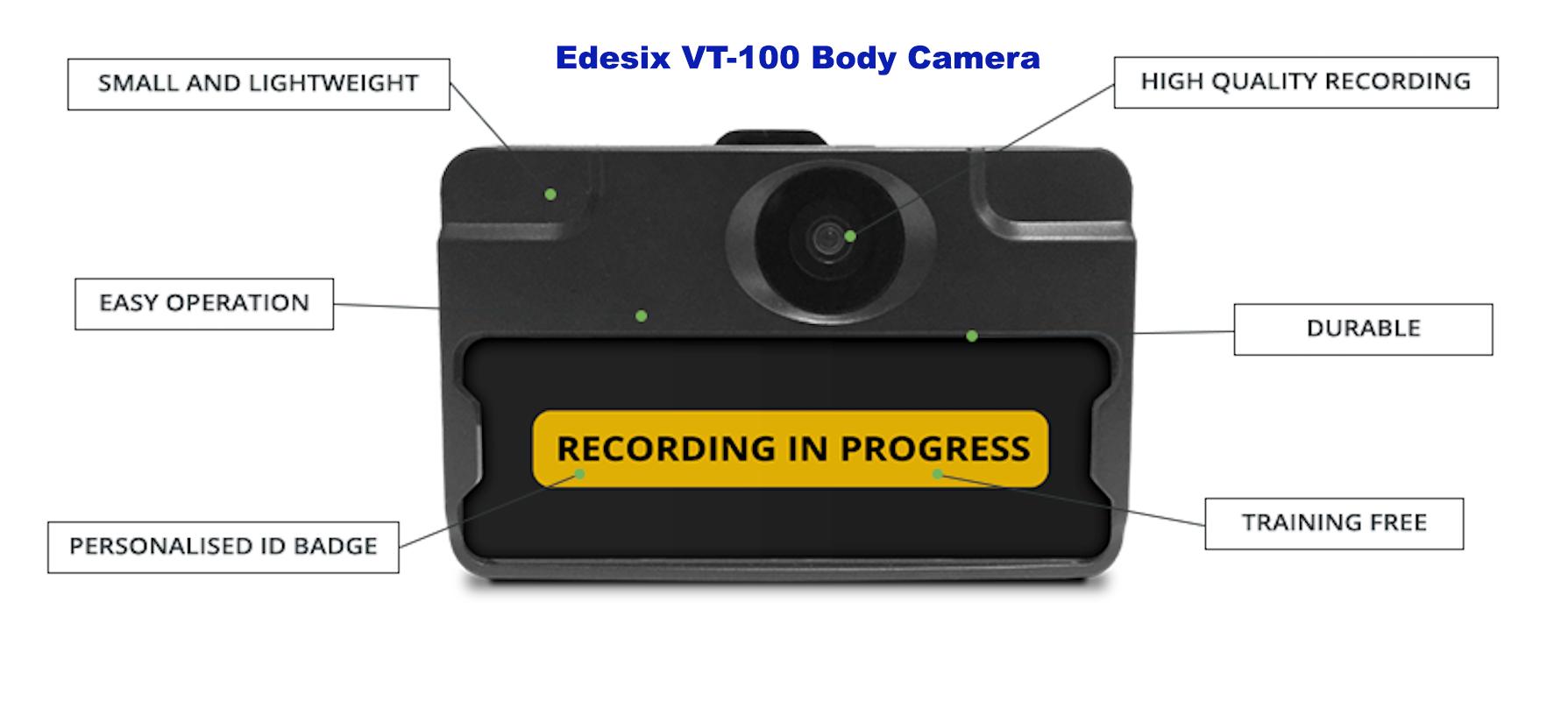 VT-100 Body Camera
